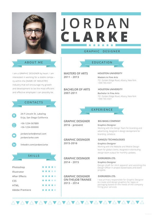 hipster-resume-template