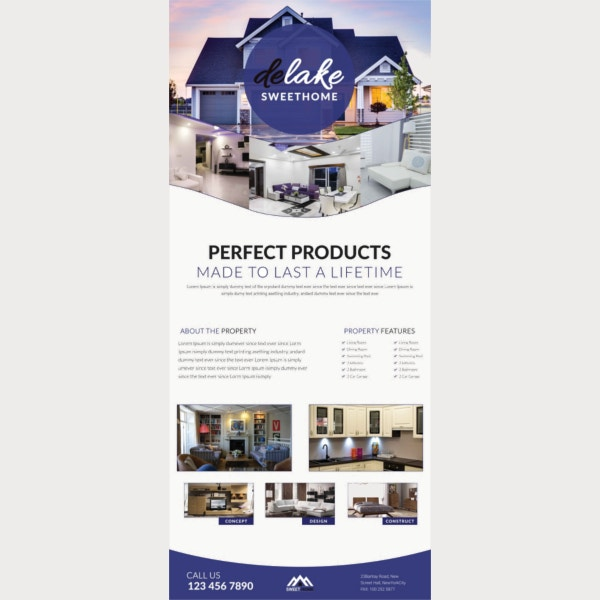 home product rollup banner template