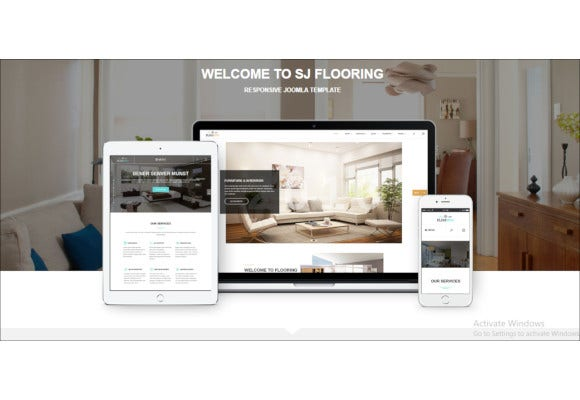 ideal responsive joomla template for interior stores