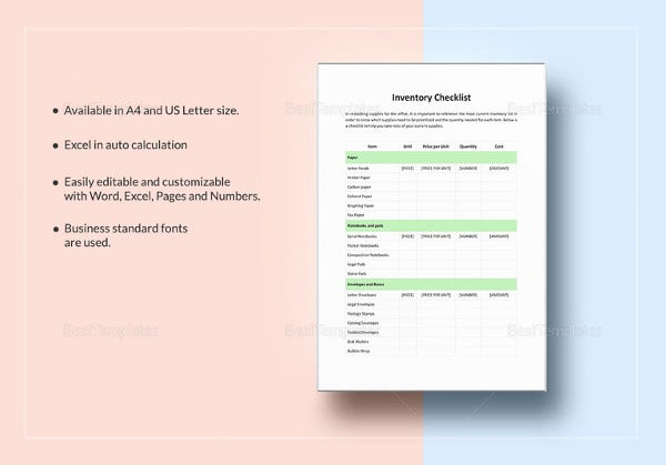 inventory-checklist-template-in-apple-pages
