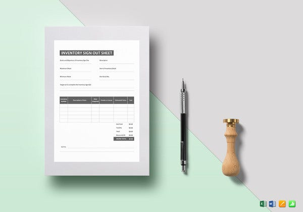 inventory-sign-out-sheet-template