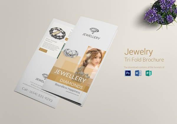 jewellery-tri-fold-brochure-template