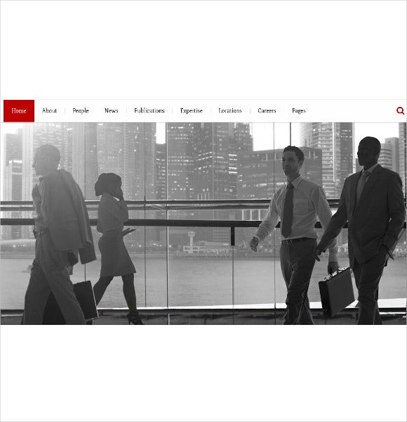 lawyerco responsive site template for companies1