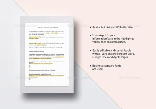 memorandum-of-agreement-template