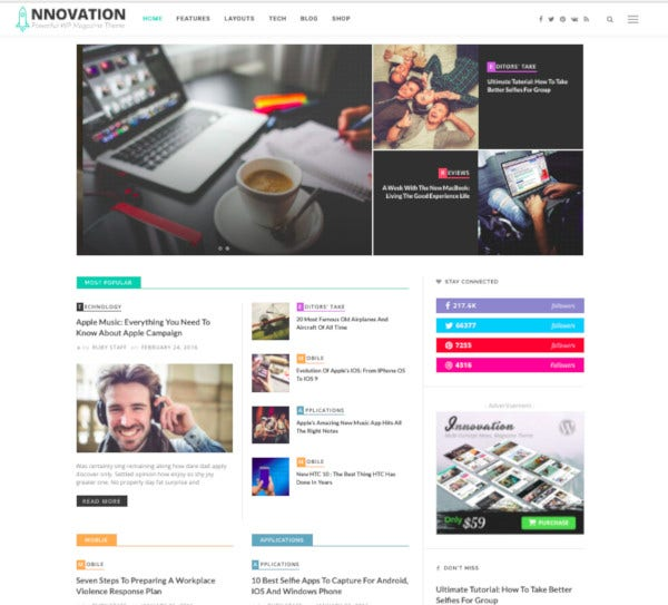 multi concept news magazine blog theme1