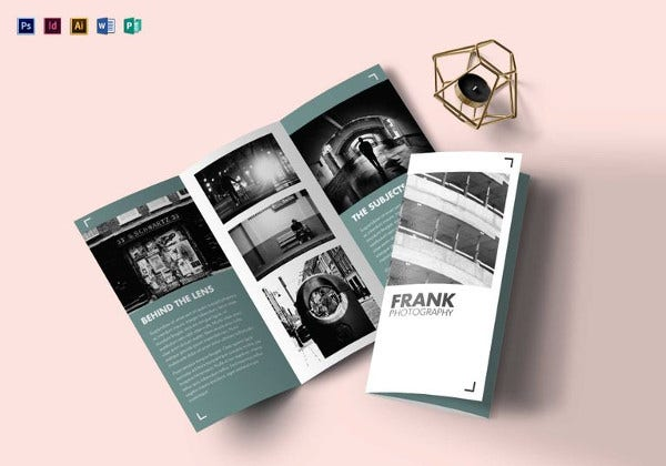 multipurpose portfolio brochure illustrator template