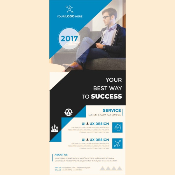 multipurpose rollup sample banner template1