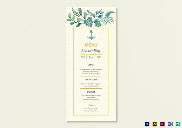 nautical-wedding-menu-card