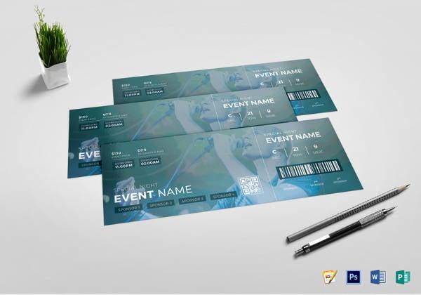 night-event-ticket-design-template