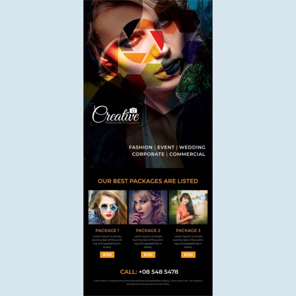 photography rollup sample banner template1