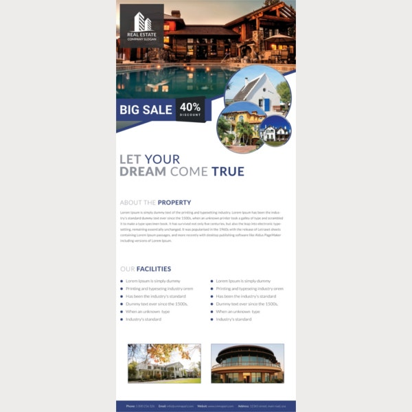 real estate rollup sample banner template1