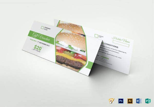 restaurant food gift voucher1