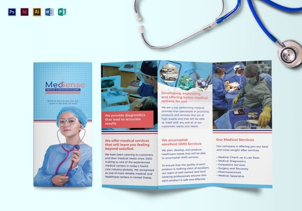 Free Brochure Templates Free PSD AI Vector EPS Format - Free medical brochure templates