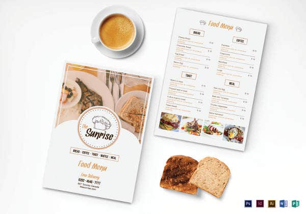 simple-breakfast-menu-template