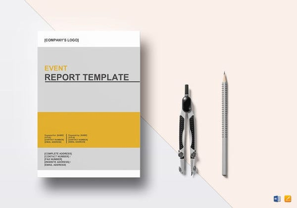 simple-event-report-template