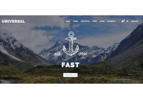 smart multi purpose html5 template