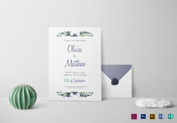 35 Wedding Invitation Templates Free Sample Example Format