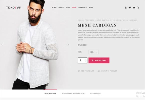 trendy creative multi purpose wordpress theme