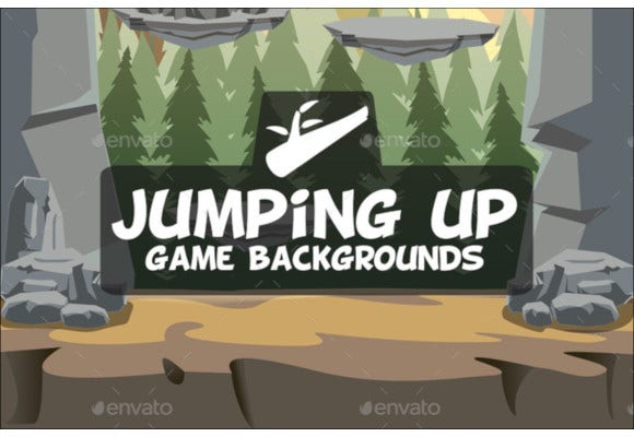 vertical jump background