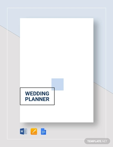 wedding planner template1