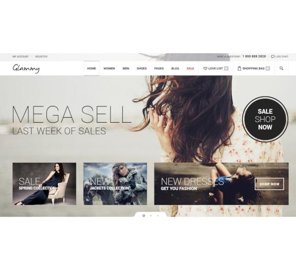 ecommerce html premium template