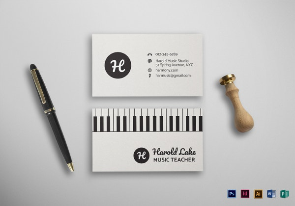 music-business-card