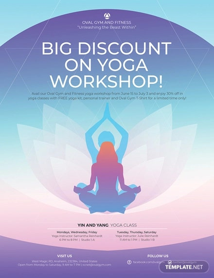 27 Yoga Flyer Designs Templates Psd Ai Vector Eps Formats Free Premium Templates