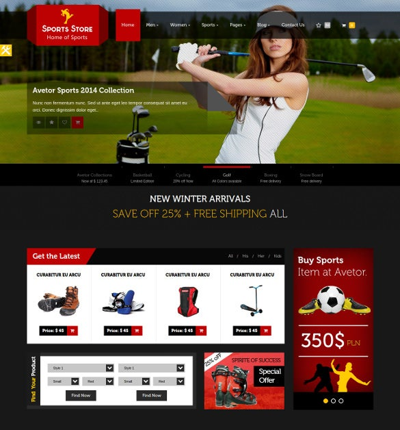 23+ PHP eCommerce Themes & Templates | Free & Premium Templates