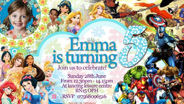 birthdaypartyinvitationfordisneyprincess1