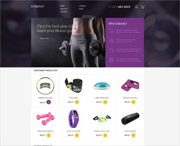 how to create ecommerce website in html