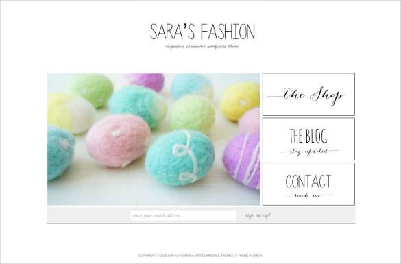 premium full screen fashion ecommerce store template