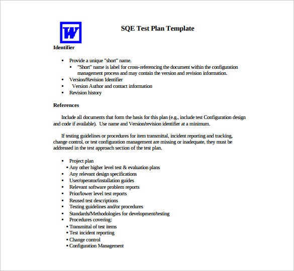 13+ Test Plan Templates – Free Sample, Example, Format Download ...