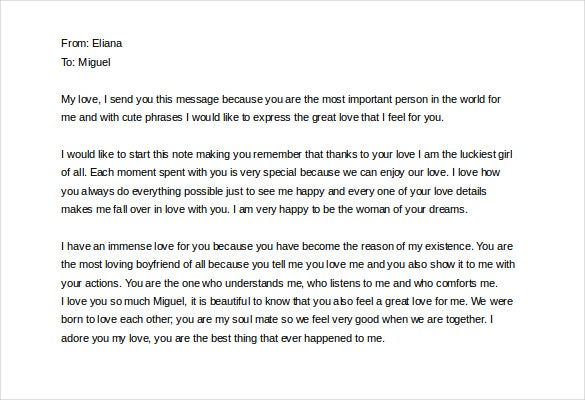 10 love letter to boyfriend free sample example format download cute love letter to boyfriend sample download thecheapjerseys Images