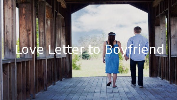 lovelettertoboyfriend