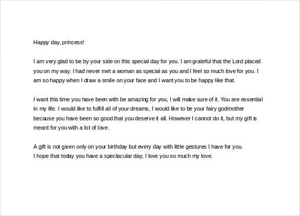 happy birthday letter to ex girlfriend 11 letter to doc pdf free amp premium 25787 | love letter to girlfriend for birthday
