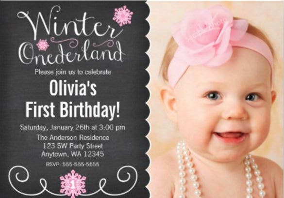 whimsical winter onederland photo first birthday
