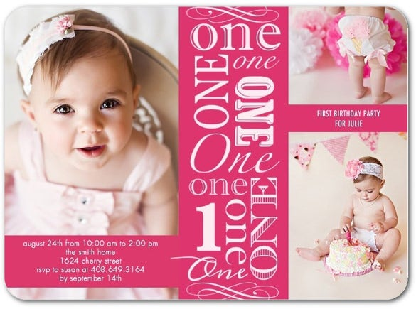 early angel birthday invitation