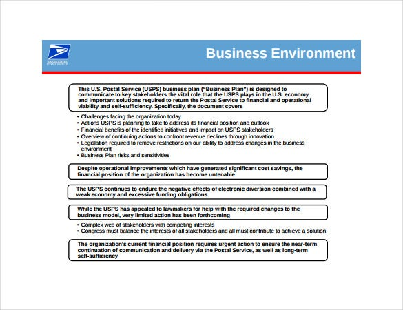 Postal Service Five Year Business Plan - Latest News