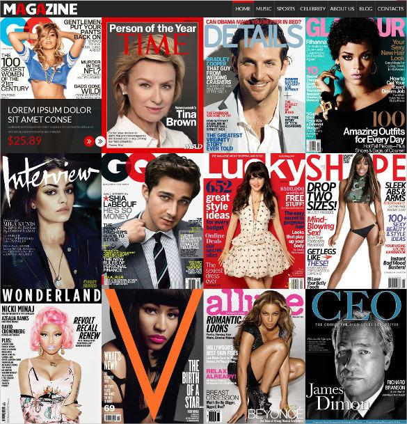 magazines store virtuemart template