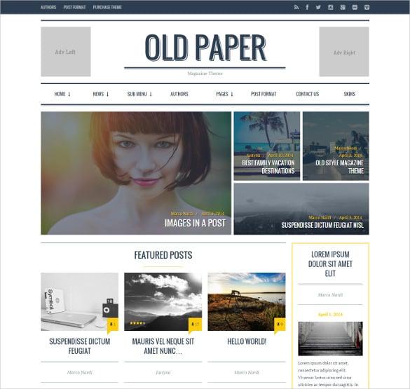 ultimate magazine blog theme