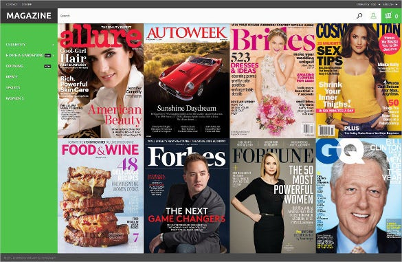 glossy covers prestashop magazine bootstrap theme