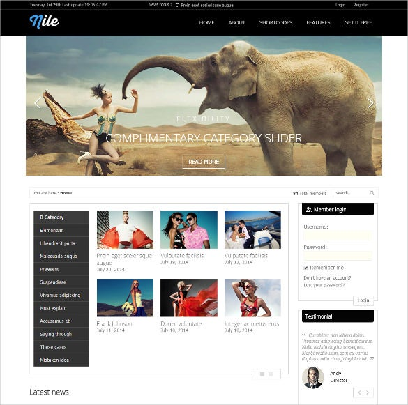 pretty wordpress magazine bootstrap theme