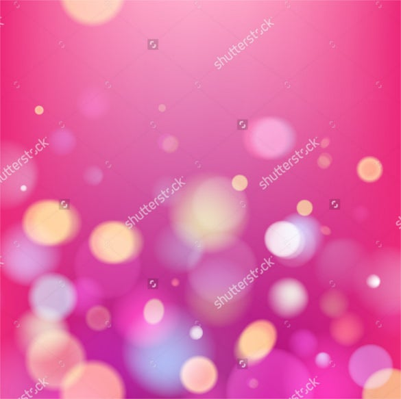 abstract colorful pink bokeh blurry background