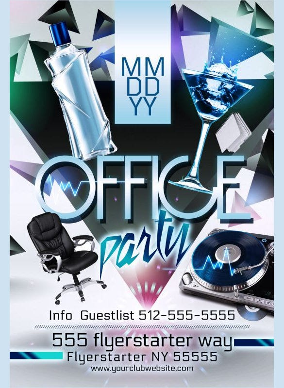download office nigth club party flyer printable