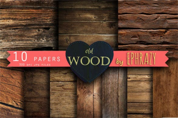 10 old wood digital paper background template download