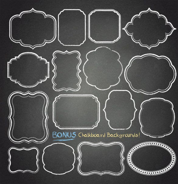 37 chalkboard backgrounds eps ai illustrator format download