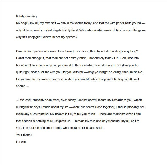 12 famous love letter templates free sample example format sample ernest hemingway love letter to mary welsh spiritdancerdesigns Choice Image