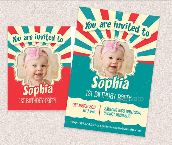 14 post card birthday invitations free psd vector eps ai birthday post card and invitation card template stopboris Image collections