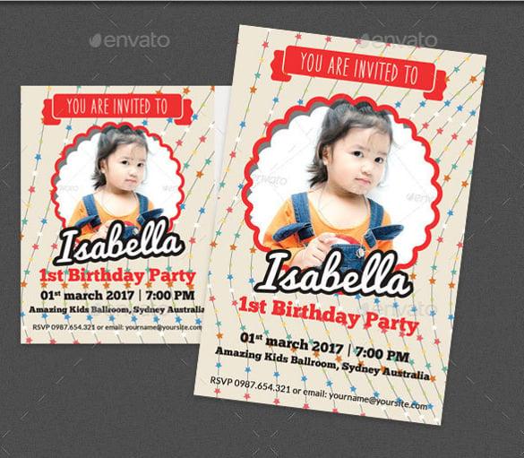 tiki party invitation printable vintage style