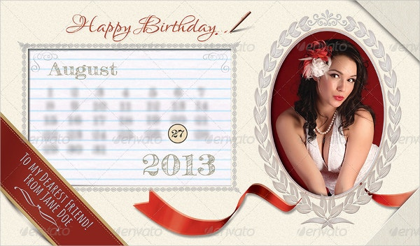 printable birthday card template design